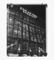 Lucas Oil Stadium at night iPad Case/Skin