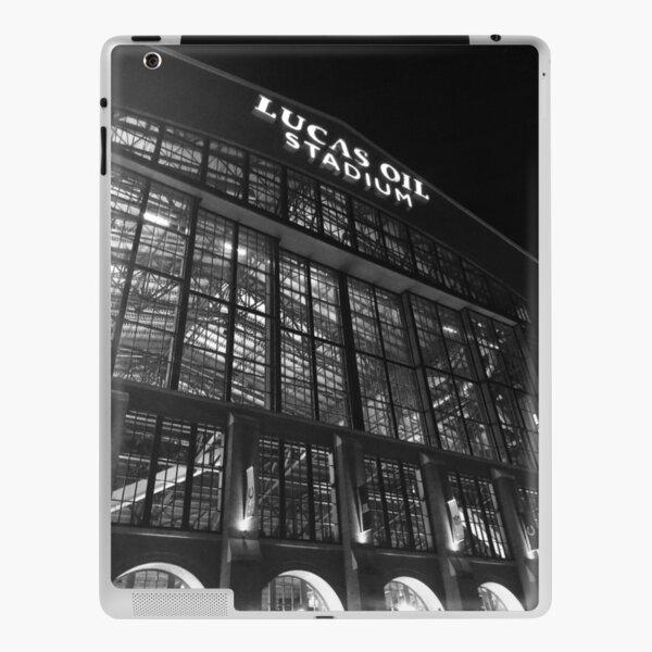 Lucas Oil Stadium at night iPad Skin