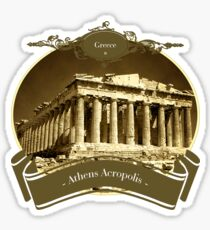 Greece - Acropolis of Athens Sticker