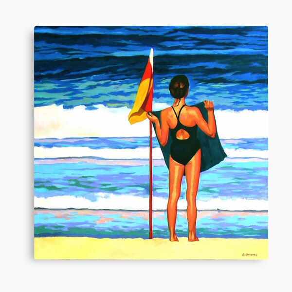 Aussie Girl Canvas Print