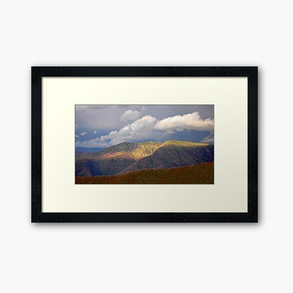 High Country Evening Framed Art Print
