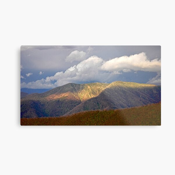 High Country Evening Metal Print