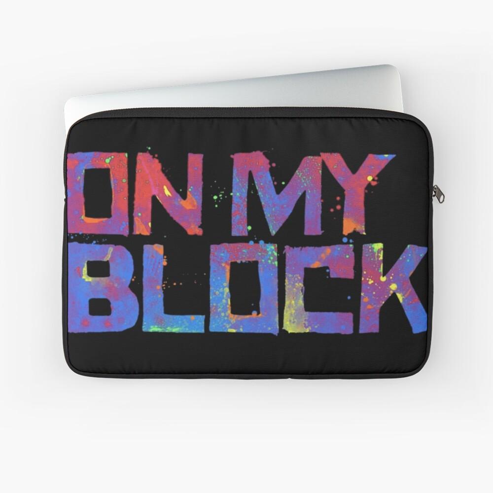 Auf meinem Block Laptoptasche