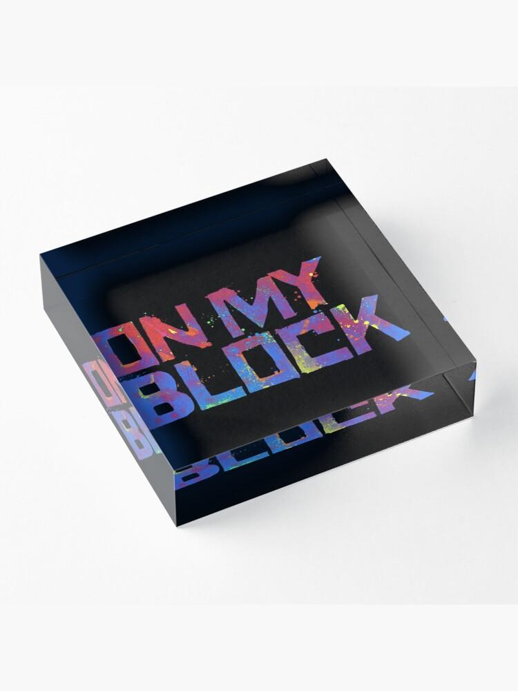 Alternative Ansicht von Auf meinem Block Acrylblock
