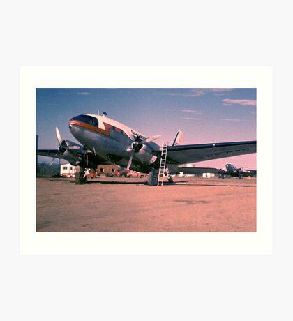 Arctic Air Service-1955 Art Print