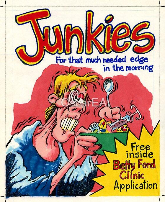 Junkies Cereal by OscarEA