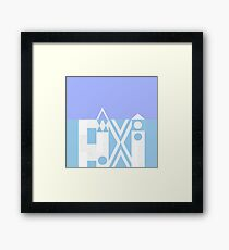 Small World Wall Framed Print