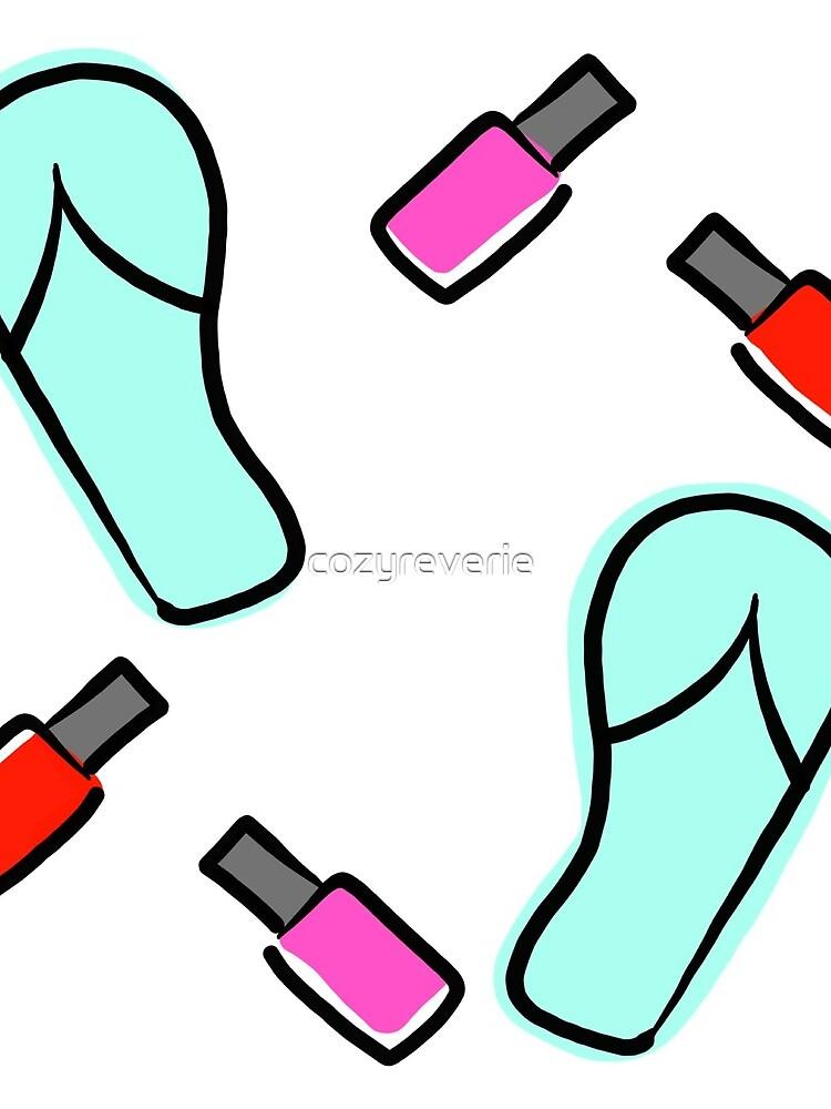 Flip Flops & Polish by cozyreverie