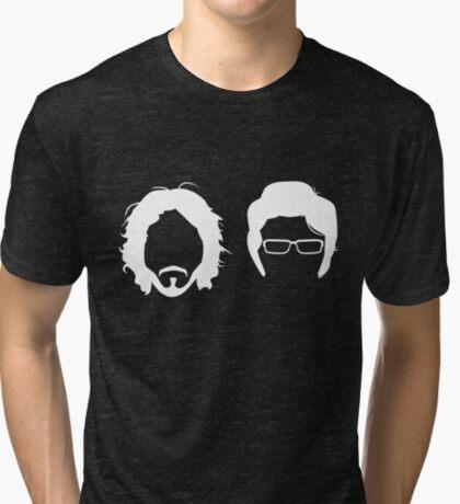 FL_GHT OF TH_ C_NCH_RDS (R_V_RS_D) Tri-blend T-Shirt