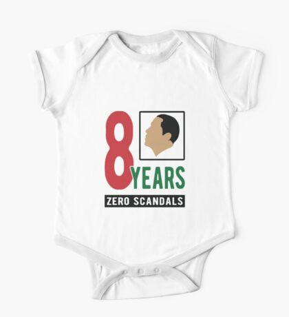 Obama 8 Years Zero Scandals Kids Clothes