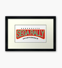 Sega Rally 2 Framed Print