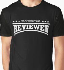 Professional Reviewer Shirt Cool Reviewer Shirt Graphic T-Shirt