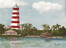 Lighthouse at Abaco by Bob Hardy