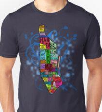 Color Coded Manhattan Unisex T-Shirt