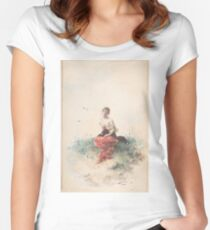 Female Figure Women's Fitted Scoop T-Shirt