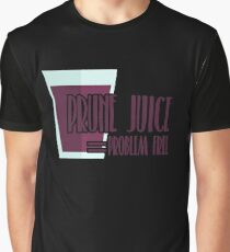 Prune Juice = Problem Free Shirt Prune Juice Lover Shirt Graphic T-Shirt