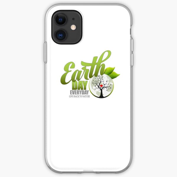 Give Back to Nature - Earth Day Everyday iPhone Soft Case