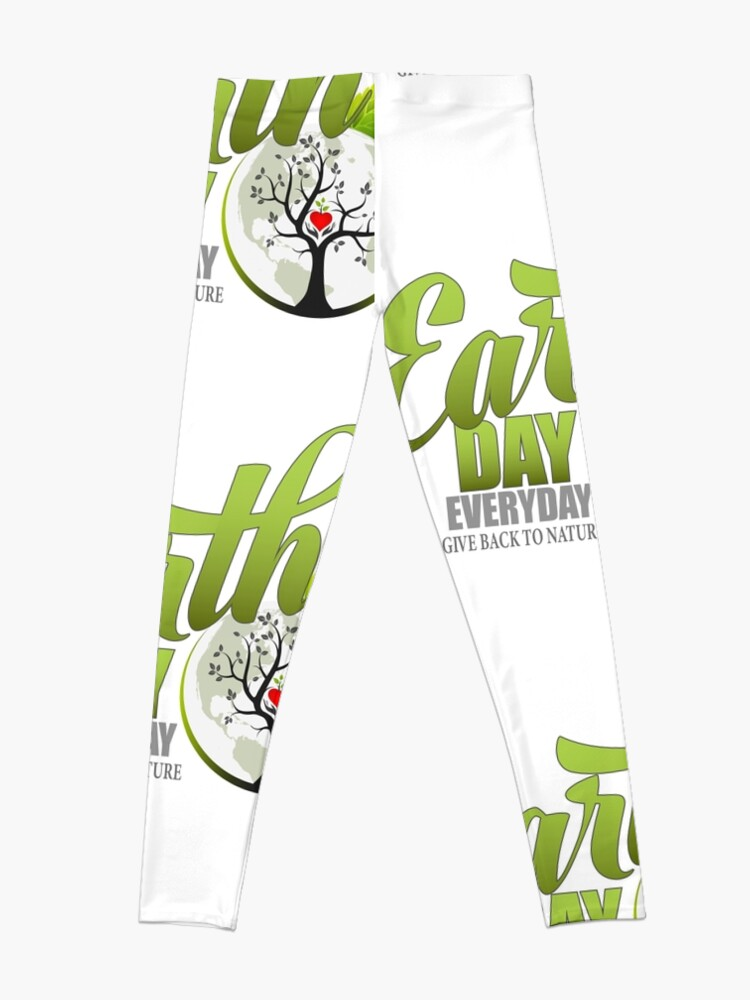 Alternate view of Give Back to Nature - Earth Day Everyday Leggings