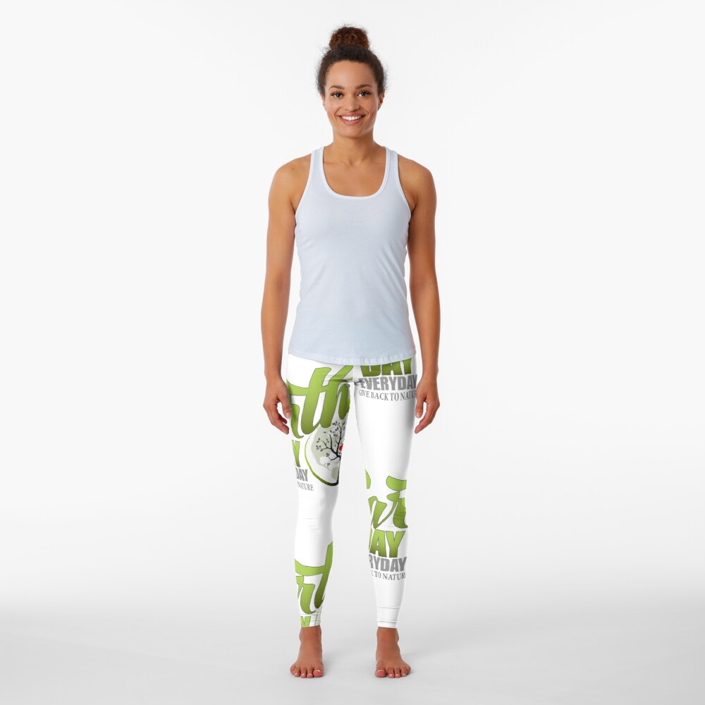 Give Back to Nature - Earth Day Everyday Leggings
