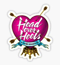 head over heels musical Sticker