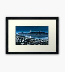 Moon Shine Framed Print