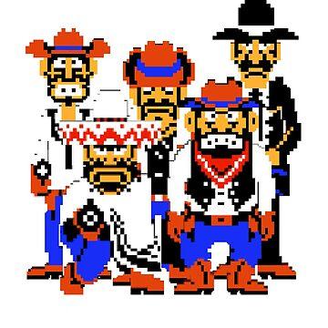 Duck Hunt Men by Giygas666