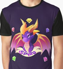 Spyro the Dragon Graphic T-Shirt