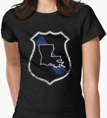 Louisiana State Trooper Louisiana State Police Shirt Women's Fitted T-Shirt