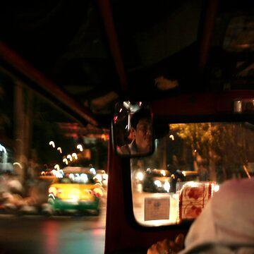 Tuk Tuk night ride by Kyra