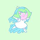 Pastel Seaweed by CrayonQueen