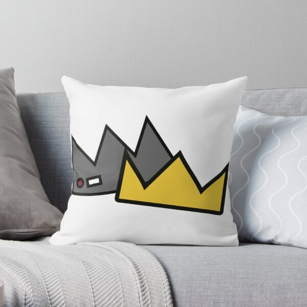 Bughead Crown Throw Pillow