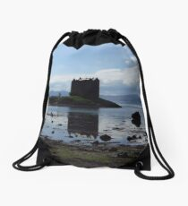 Castle Stalker, Argyll, Scotland Drawstring Bag