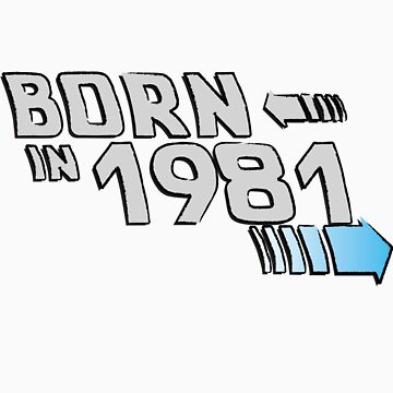 BORN IN 81 by Ajmdc