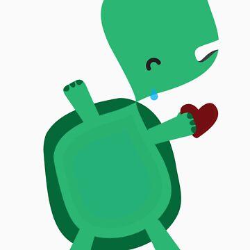 Sad turtle by Toli