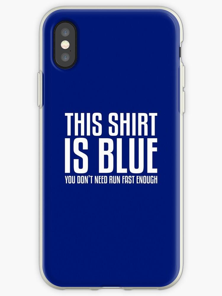Dieses Shirt ist blau, wenn Sie schnell genug laufen - Lustiger Physik-Witz (Sie brauchen nicht schnell genug zu laufen) von susansasther