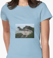 PRIVATE COVE Women's Fitted T-Shirt