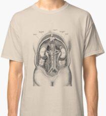 Menschliches Nierensystem - Weinlese-Anatomie Classic T-Shirt