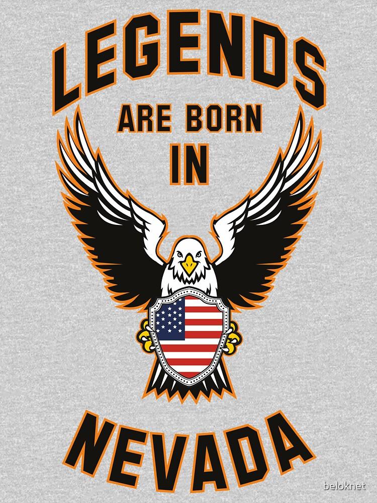 Legends are born in Nevada by beloknet