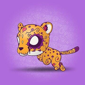 Cheetah - Animals | Day of the Dead Mashup by abowersock