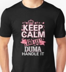 Keep Calm And Let Duma Handle it Mother's day Tee Shirt Unisex T-Shirt