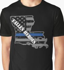 Louisiana State Police New Orleans Police Department Graphic T-Shirt