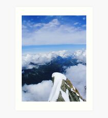 On top of the world... Art Print
