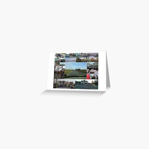 LG Renoir Collage Greeting Card