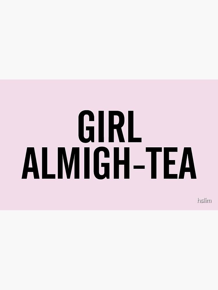 GIRL ALMIGH-TEA by hslim