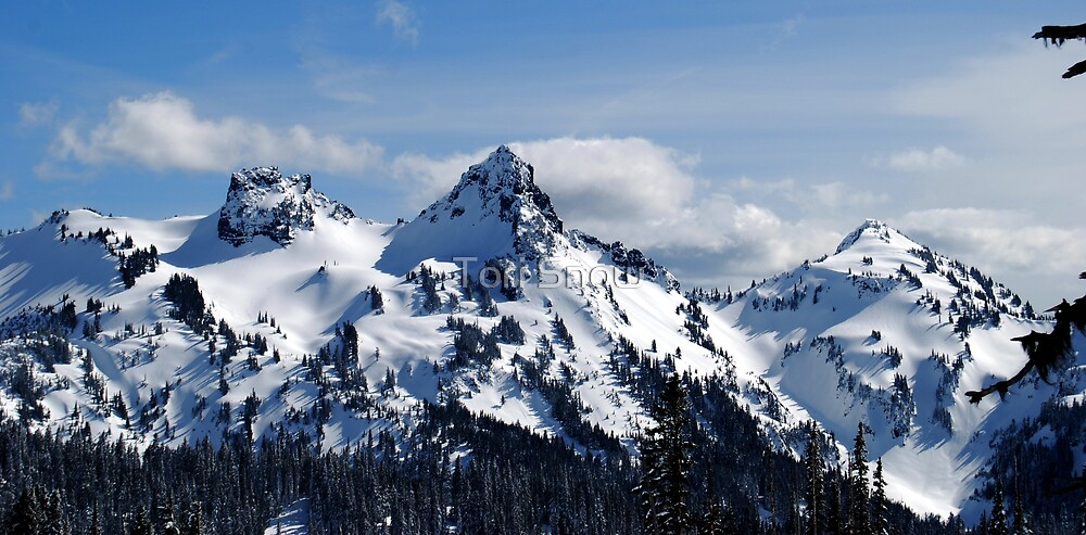 The Tatoosh Mountains by Tori Snow