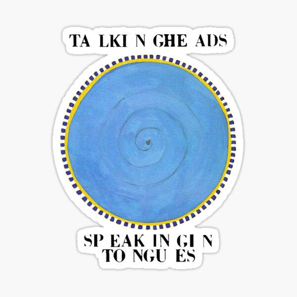Talking Heads - Speaking in Tongues Sticker