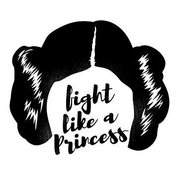 Fight like a Princess by japdua