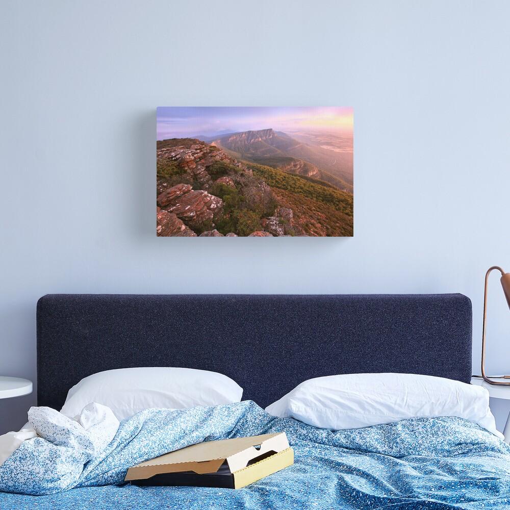Redmans Bluff from Mt William, Grampians, Australia Canvas Print