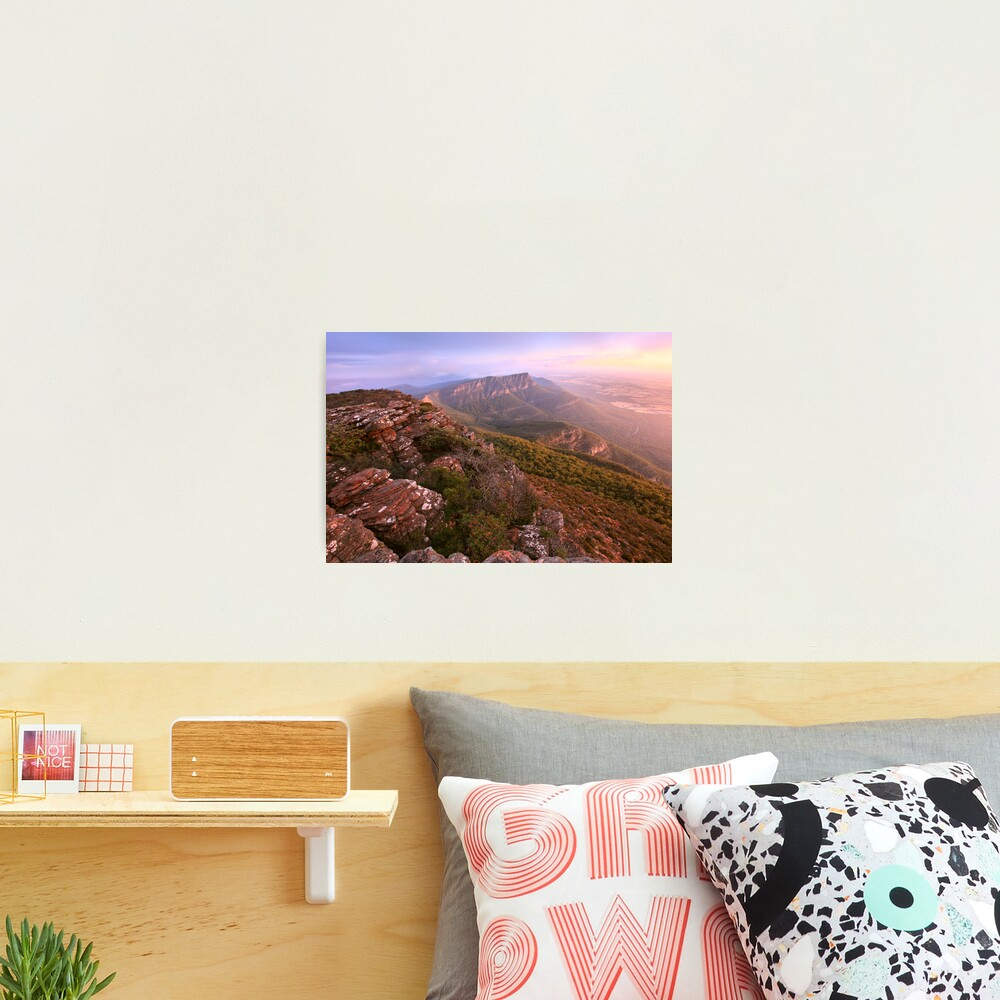 Redmans Bluff from Mt William, Grampians, Australia Photographic Print