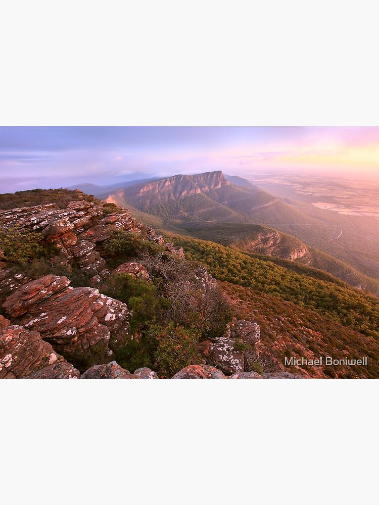Redmans Bluff from Mt William, Grampians, Australia by Chockstone